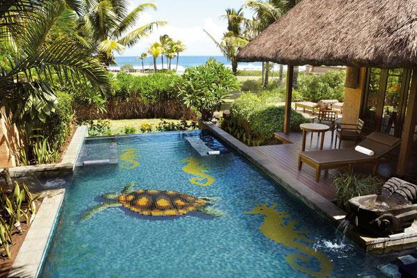 Mosaico decoro per piscina Tartaruga 1600x950mm