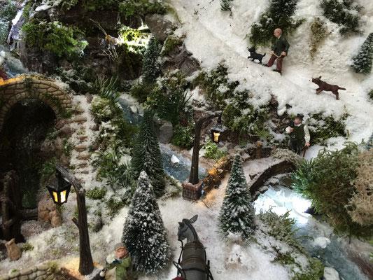 Village de Noël/Christmas Village 2014: Encore un petit pont