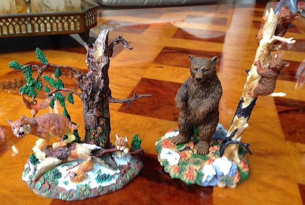 Rocky mountain wildlife, bears and bobcats - # 56-53047 - Vue 1