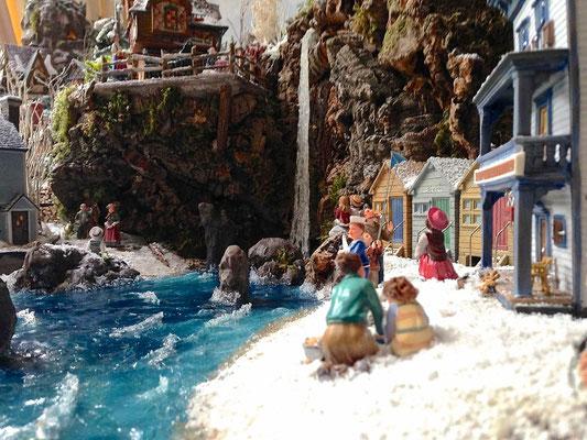 Village Noël/Christmas Village 2013: Une cascade dans la mer