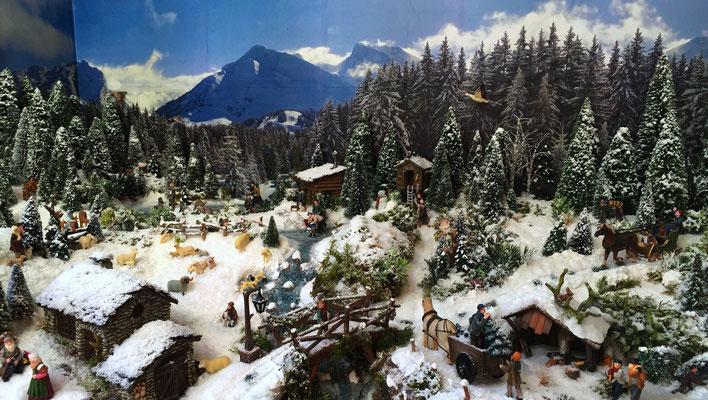 Village Noël /Christmas Vilage 2014 : Les hauteurs