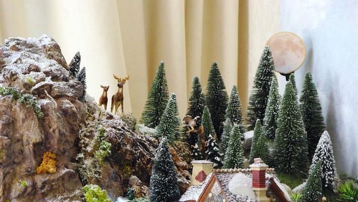 Village Noël/Christmas Village 2013 : Là-haut dans les rochers