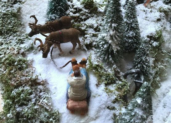 Village de Noël/Christmas Village 2014: Joli traineau