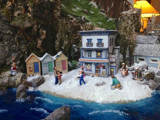 Village Noël/Christmas Village 2013: Jeux de plage