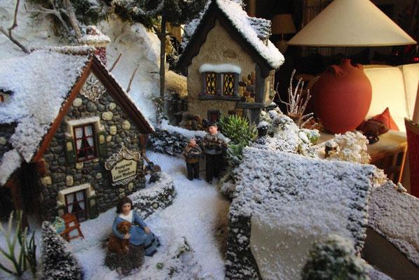 Village de Noël/Christmas Village 2014: Vie familiale