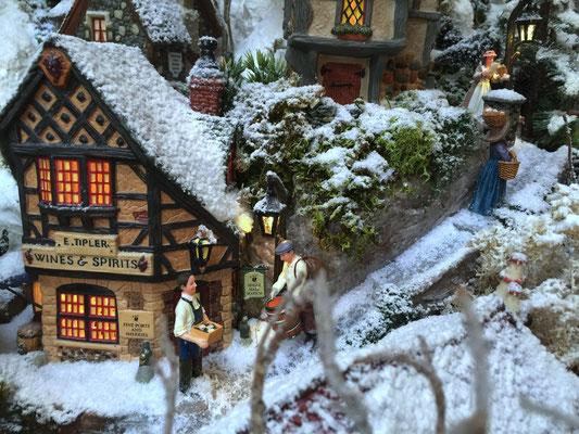 Village de Noël/Christmas Village 2014: Marchand de vin