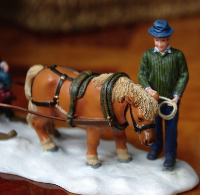 Child carriage with pony - 600712 - vue 3