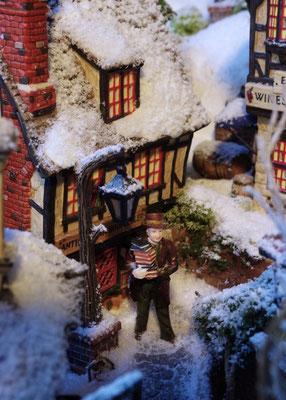 Village de Noël/Christmas Village 2014: Le plein de lecture
