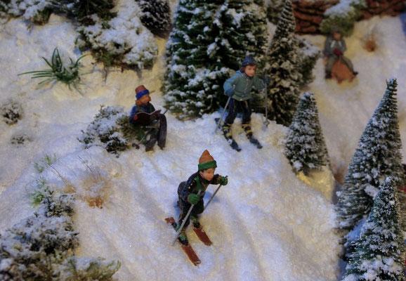 Village de Noël/Christmas Village 2014: Et hop, c'est parti !