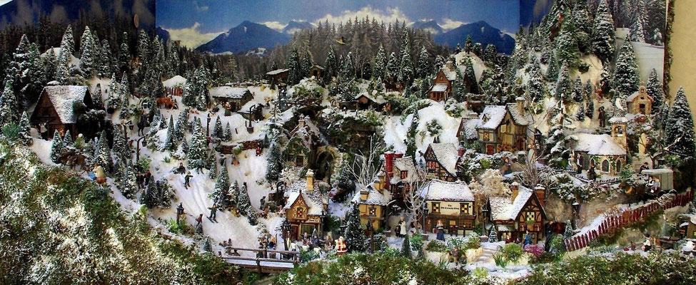 Village Noël /Christmas Village 2014 : Vues générales 02