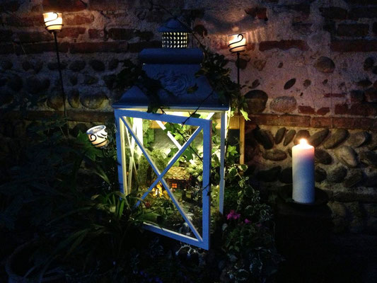 L'échappée belle dans la nuit - Bougies à l'appui