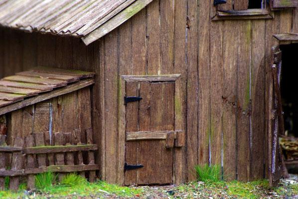 Vieille grange de Sully: Détail exterieur