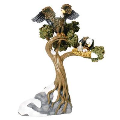 Bald eagle nesting - # 56-52972 - Vue 1