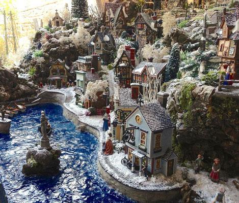 Village Noël/Christmas Village 2013: Les quais et la jetée