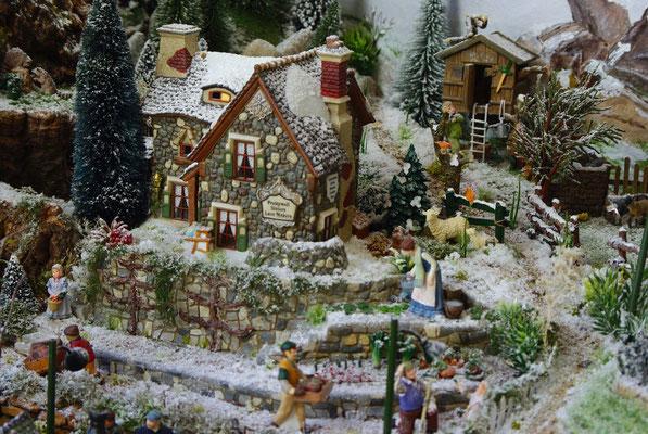 Village Noël/Christmas Village 2013 : La maison au potager