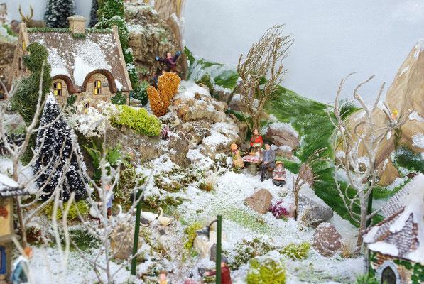 Village Noël/Christmas Village 2013 : En pique-nique sur la lande