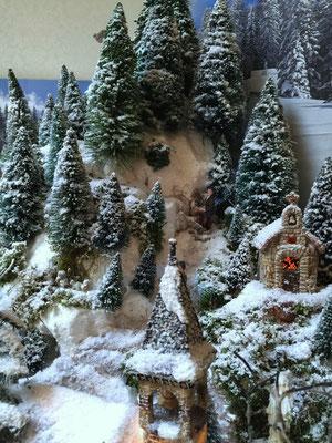 Village de Noël/Christmas Village 2014: Petite chapelle