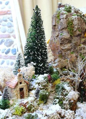 Village Noël/Christmas Village 2013: Petite chapelle isolée