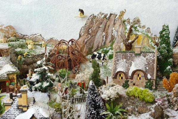 Village Noël/Christmas Village 2013 : Les terres d'en haut