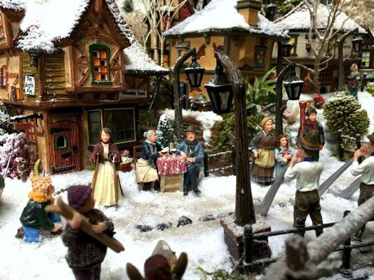 Village de Noël/Christmas Village 2014: Terrasse d'arrivée