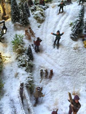 Village de Noël/Christmas Village 2014: Ensuite il faut remonter !