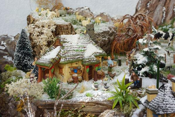 Village Noël/Christmas Village 2013 : Une belle basse-cour