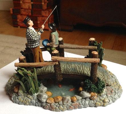 Fishing on the bridge - 602317 - vue 3
