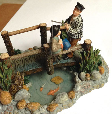 Fishing on the bridge - 602317 - vue 4