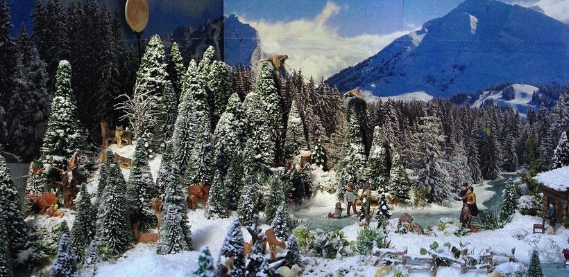 Village Noël /Christmas Village 2014, les hauteurs: Un beau paysage