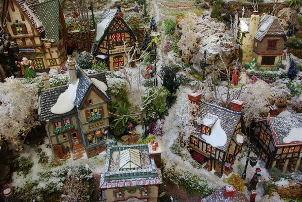 Village Noël/Christmas Village 2013 : En descendant vers la mer