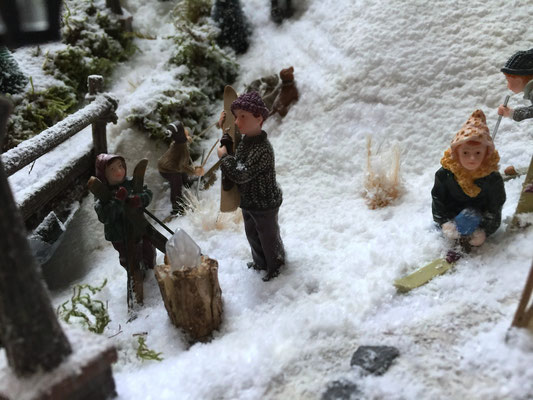Village de Noël/Christmas Village 2014: De quoi se réchauffer