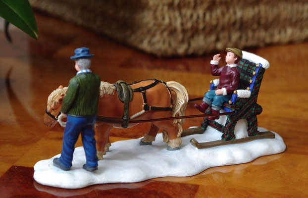 Child carriage with pony - 600712 - vue 2