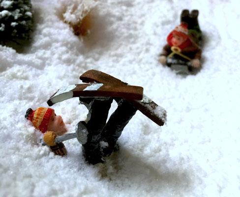 Village de Noël/Christmas Village 2014: Boum !