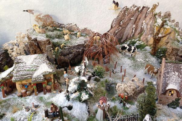 Village Noël/Christmas Village 2013 : Ferme d'élevage