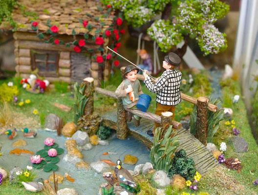 L'échappée belle - À la pêche dans l'étang