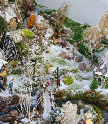 Village Noël/Christmas Village 2013 : Les prés du haut