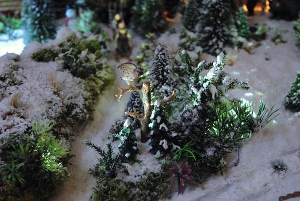 Village Noël /Christmas Vilage 2014, les hauteurs: En plein essor
