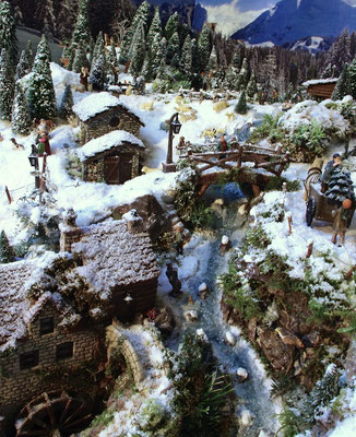 Village de Noël/Christmas Village 2014: Le torrent