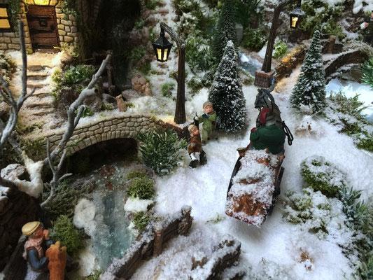 Village de Noël/Christmas Village 2014: Piège de boules de neige