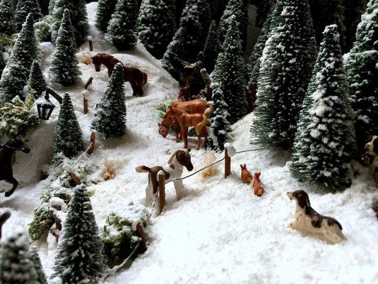 Village Noël /Christmas Village 2014, les hauteurs: Scénes de vie