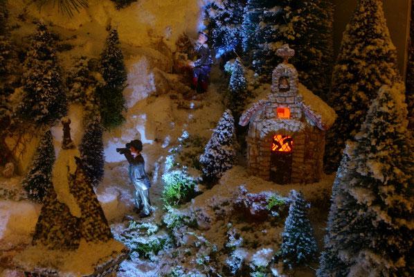 Village de Noël/Christmas Village 2014 de nuit: Observation nocturne