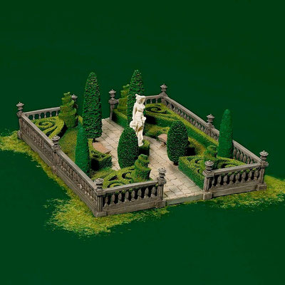 Formal gardens - #56-58551 - Vue 1