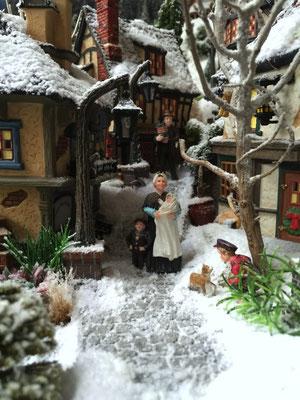 Village de Noël/Christmas Village 2014: Vie villageoise