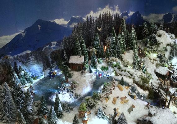 Village Noël /Christmas Vilage 2014, les hauteurs: Vue aerienne