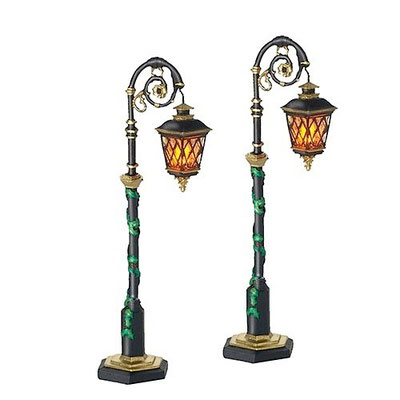 Ornate street lamps - #56-53507 - Vue 1