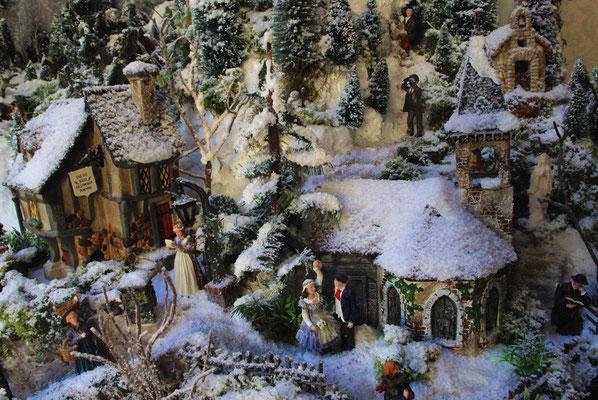 Village de Noël/Christmas Village 2014: L'église du village