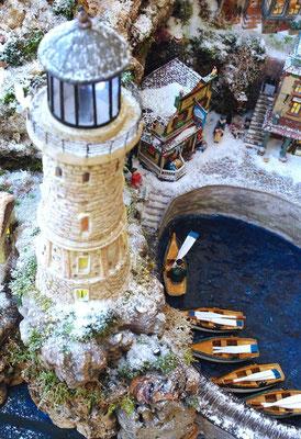 Village Noël/Christmas Village 2013: Du haut du phare