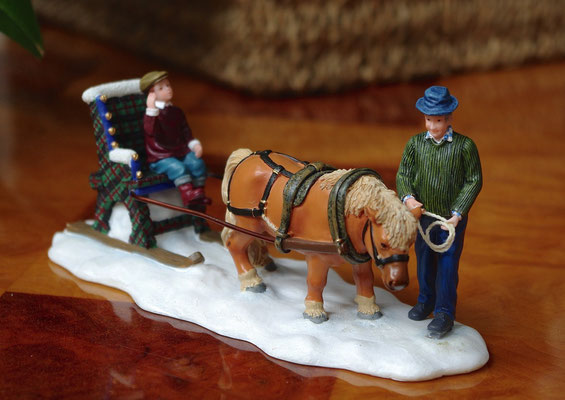 Child carriage with pony - 600712 - vue 1