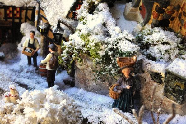 Village de Noël/Christmas Village 2014: Dur de remonter !