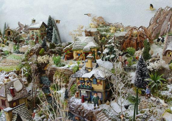 Village Noël/Christmas Village 2013 : La campagne du haut